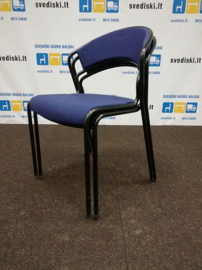 Kinnarps Tango Mėlyna Lankytojo Kėdė, Švedija