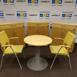 biuro baldai geltona gelsva spalva - darbuotojo lankytojo kėdė stalas komplektas svediski.lt, Stabilus biuro baldai, pakeliamas stalas, pakeliami stalai, darbo stalas, kampiniai darbo stalai, darbo kedes, lentynos spintos, komodos, konteineriai, zurnaliniai staliukai, spinteles, pakabinamos lentyneles, biuro komplektai, daiktadezes, biuro baldai namams, ofiso baldai, ofiso baldai verslui, konferenciju kedes, biuro lentynos, biuro spinteles, biuro spintos, baldai verslui, ergonomiskos kedes, ergonomiski stalai, ergonomiskas stalas, ergonomiska kede, ergonomiska spinta, ergonomiska spintele, stalciu blokai, spintos su stiklinemis durelemis, magnetines lentos, balta magnetine lenta, konferenciju stovai, vadovo biuro baldai, darbuotojų biuro baldai, Lankytojų kėdės, konferencines kedes, vilnius, kaunas, klaipeda, siauliai, panevezys, Efg, Martela, Edsbyn, Linak, Swedstyle, Horreds, Skandiform, Materia, Martinstoll, NC Nordic Care, Drabert, prabangus biuras, puikios, aukstos kokybės modernūs ergonomiški biuro baldai