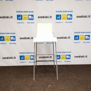 Balta Baro Kėdė Su Pilku Rėmu, Švedija