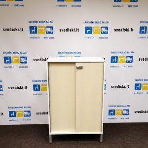 Švediški Lt. SA Mobler balto beržo rakinama spintelė