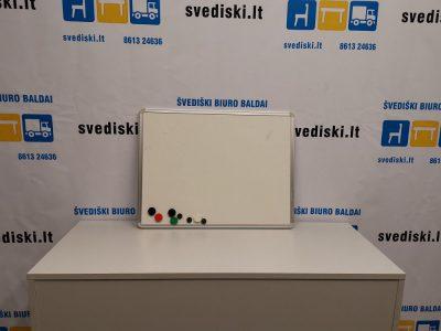 Švediški lt. Balta Magnetinė Lenta Su Aliuminiu Rėmu, Švedija
