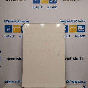 Švediški lt. Esselte Balta Magnetinė Lenta 90x60 cm Su Aliuminiu Rėmu, Švedija