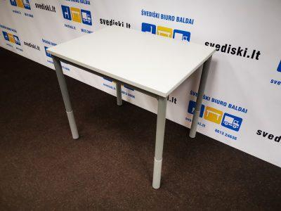 Švediški lt. Pilkas stalas su reguliuojamomis stalo kojomis Švedija