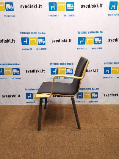 Švediški.lt Lammhults Buko Kėdė Iš Lenktos Faneros, Švedija