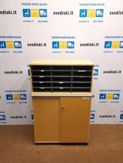 Švediški.lt Kinnarps Dokumentų Beržo Spinta Su Rakinama Dalimi, Švedija