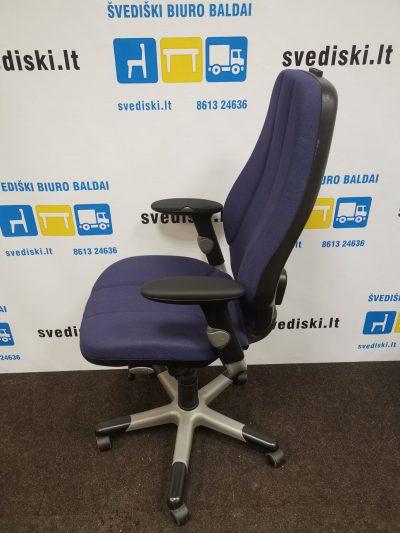 Švedija.lt RH Logic 400 Violetinė Biuro Kėdė Su Reguliuojamais Porankiais , Švedija