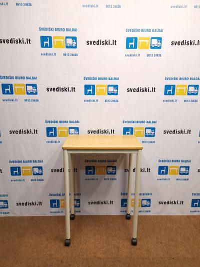 Švediški.lt Reguliuojamo Dydžio Stalas Su Ratukais, Švedija