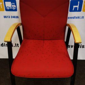 Švediški.lt Kinnarps Arcus Raudona Lankytojo Kėdė, Švedija