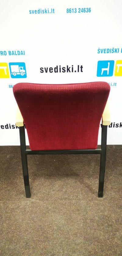 Švediški.lt Švediški. lt Skandiform Buko Apvalus Stalas Su Juoda Koja, Švedija