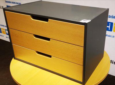 Švediški.lt Stalčių Blokas Tvirtinamas Prie Biuro Stalo, Švedija