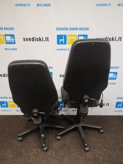 Švediški.lt RH Extend Juoda Biuro Kėdė Be Porankių, Švedija