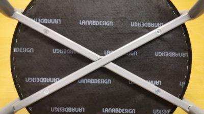Švedija. lt Lanab Design Stalis Juoda Lankytojo Kėdė Su Pilku Rėmu, Švedija