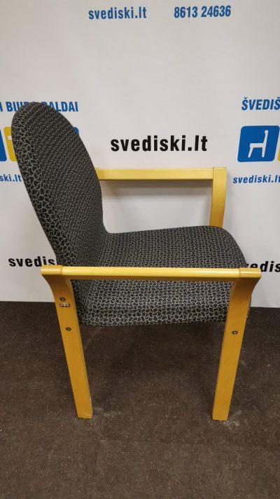 Švediški.lt EFG Asko Buko Lankytojo Kėdė Su Porankiais, Švedija