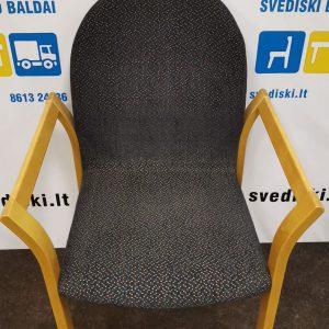 Švediški.lt EFG Asko Beržo Lankytojo Kėdė Su Porankiais, Švedija
