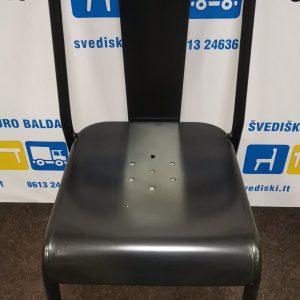Švediški.lt Juoda Metalinė Lankytojo Kėdė, Švedija