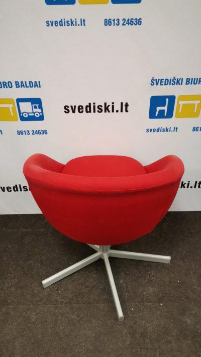 Švediški.lt Ikea Skruvsta Raudonas Fotelis, Švedija