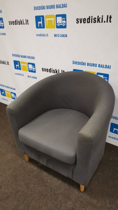 Švediški.lt Ikea Tullsta Pilkas Fotelis, Švedija
