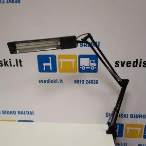 Švedija.lt Unilux Juoda Reguliuojamo Pasvirimo Lempa Tvirtinama Prie Stalo, Prancūzija