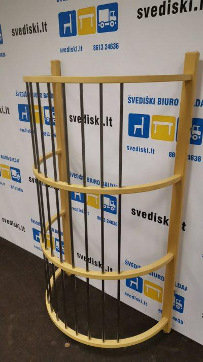 Buko Medžio Atitvaras Su Metalinėmis Grotelėmis, Švedija