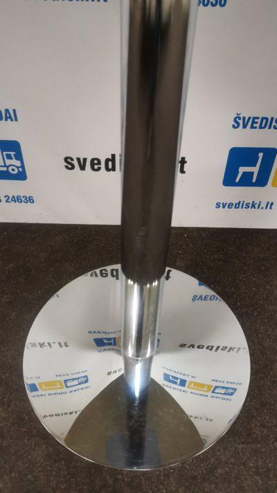 Baro Stalas Su Nikeliuoto Metalo Koja Ir Buko Stalviršiu, Švedija