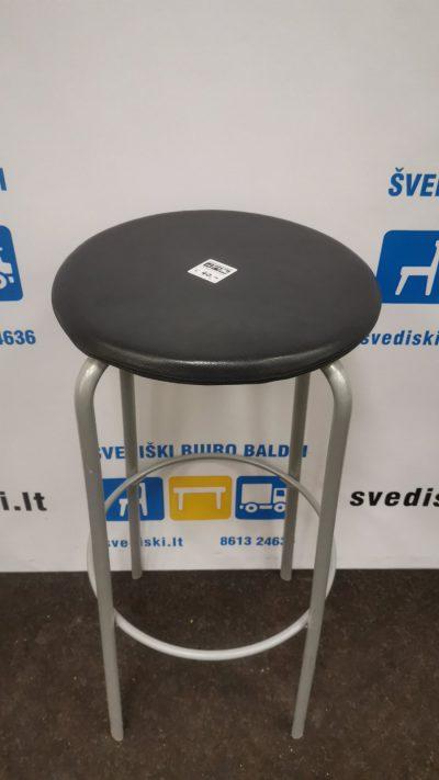 Kinnarps Frisbee Baro Kėdė Su Juoda Eko Odos Sėdima Dalimi, Švedija