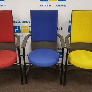 Svediski.lt 3 Martela Intimo Lankytojo Kėdės Su Juodai Dažyta Fanera, Švedija