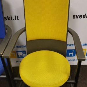 Svediski.lt Martela Intimo Lankytojo Kėdė Su Geltonu Gobelenu, Švedija