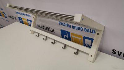 Svediski.lt Baltai Dažyta Medinė Pakaba Tvirtinama Prie Sienos, Švedija