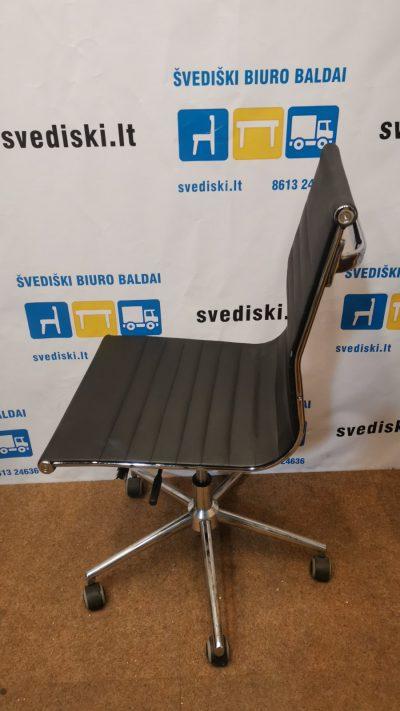 Svediski.lt Kėdė Su Eko Oda Ir Ratukais, Švedija