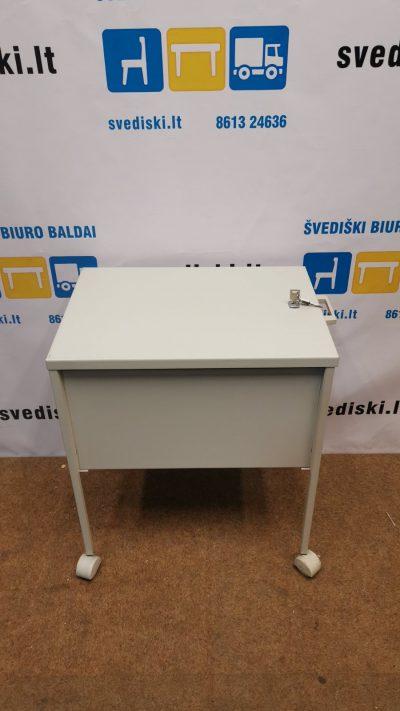 Svediski.lt Balta Rakinama Metalinė Kabinamų Segtuvų Dėžė, Švedija