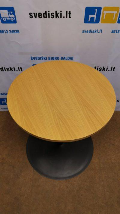 Ąžuolo Apvalus Stalas 70 cm Skersmens, Švedija