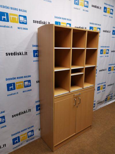 Buko Rakinama Pašto Lentynų Spinta Su Ištraukiamu Staliuku, Švedija