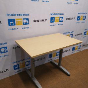 Ikea Galant Reguliuojamo Aukščio Mechanizmas Su Buko 100x60 cm Stalviršiu, Švedija