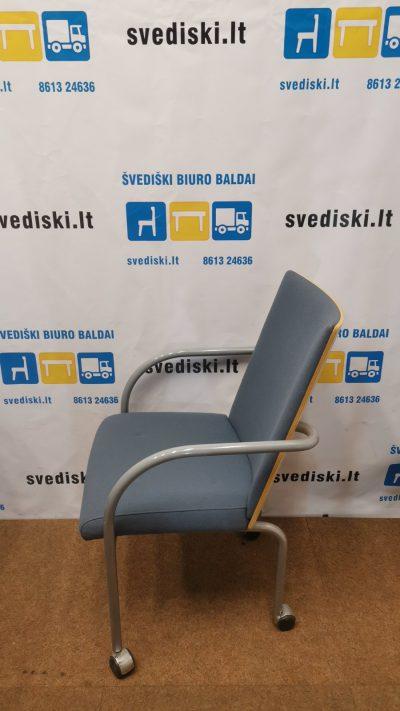 Melsva Lankytojo Kėdė Su Porankiais Ir Ratukais, Švedija