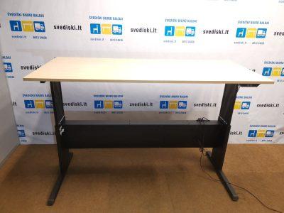 EFG Juodas Stalo Mechanizmas Su Klevo 180x80 cm Stalviršiu, Švedija
