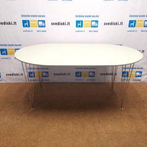 Balintas ąžuolo lukšto stalas