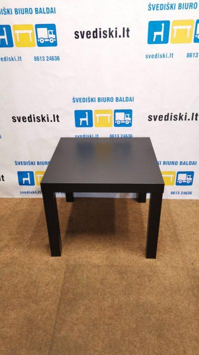 Ikea Lack Juodas Staliukas 55x55cm, Švedija