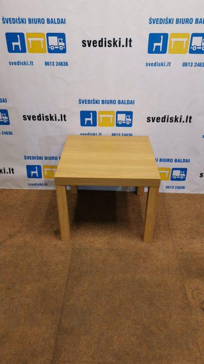 Ikea Lack Beržo Staliukas 55x55cm, Švedija