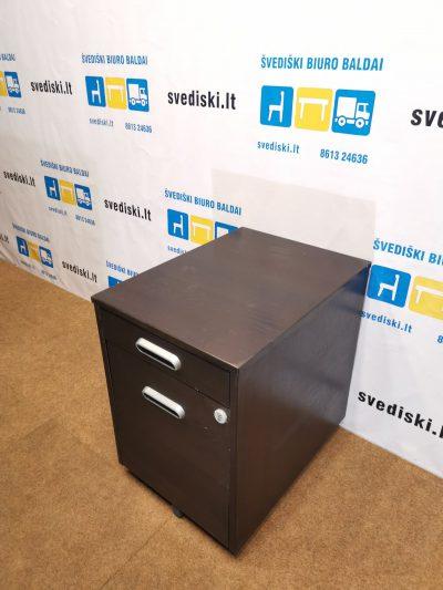 Juodai beicuotas Stalčių Blokas Su 4 Stalčiais, Švedija