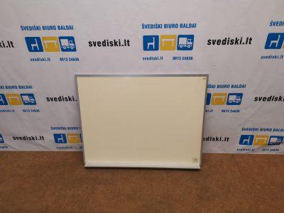 Tabula Gelsvai Pilka Magnetinė Lenta 100cm Pločio Su Lentynėle, Švedija