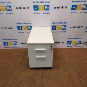 Baltas Stalčių Blokas Su 2 Stalčiais, Švedija