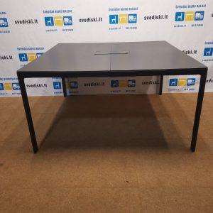 Ikea Bekant Konferencinis Stalas 140x140cm, Švedija