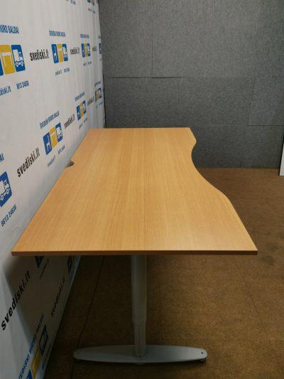 Kinnarps Elektra Reguliuojamas Stalas Iki 83cm Aukščio Su 180x90cm Stalviršiu, Švedija