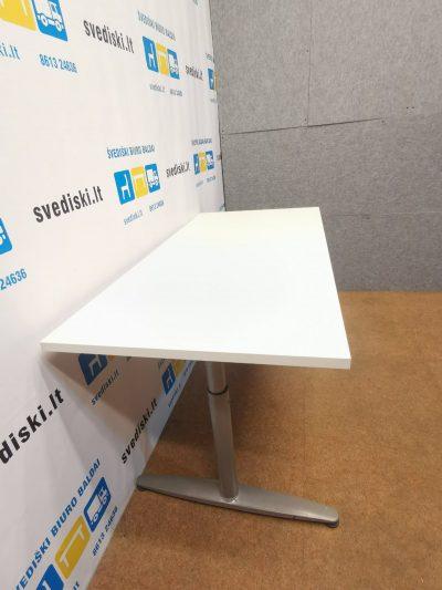 Ikea Galant Reguliuojamo Aukščio Stalas Su Baltu 140x67 cm Stalviršiu, Švedija