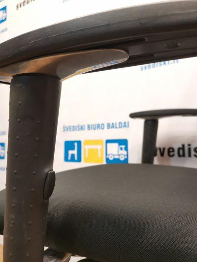 Drabert By Samas Juoda Ergonomiška Biuro Kėdė Su 3D Porankiais, Švedija