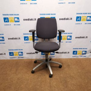 Drabert By Samas Tamsiai Mėlyna Ergonomiška Biuro Kėdė Su 3D Porankiais, Švedija