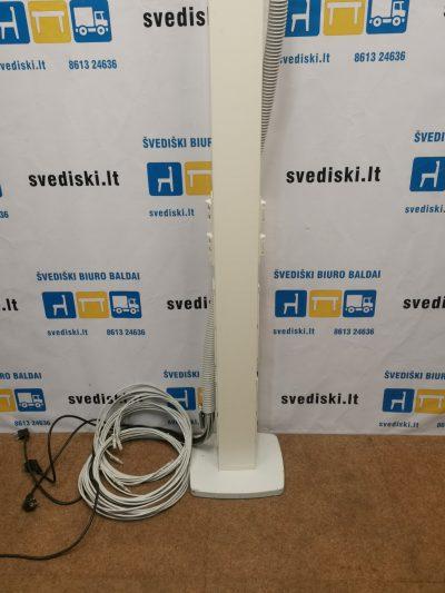 Dvipusis Stovas Su 16 Elektros Ir 8 Tinklo Lizdais, Švedija
