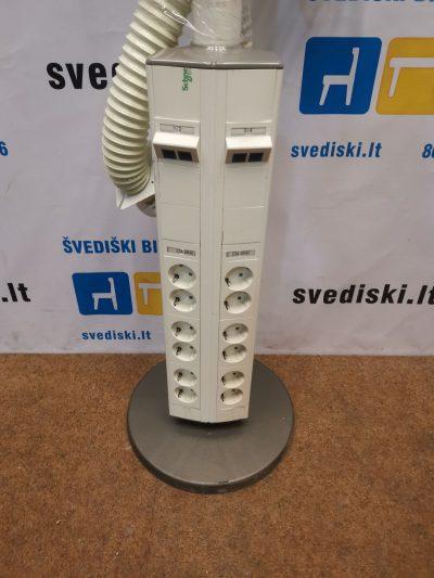 Schneider Electric Stovas Su 12 Elektros Ir 4 Tinklo Lizdais, Švedija