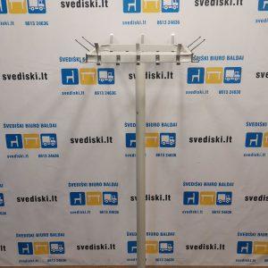 Balta Metalinė Rūbų Kabykla, Švedija