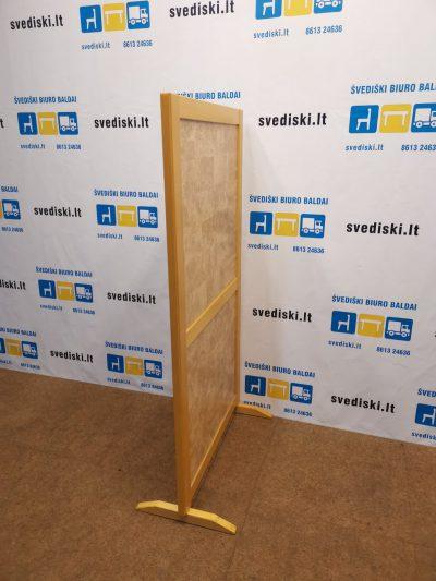 Buko Pastatoma Sienelė 150x80cm Su Kamštiniu Užpildu, Švedija